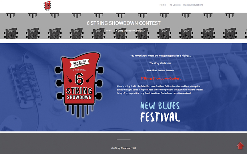 6String Showdown Home page