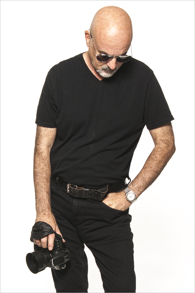 Andre Felix in his black outfit