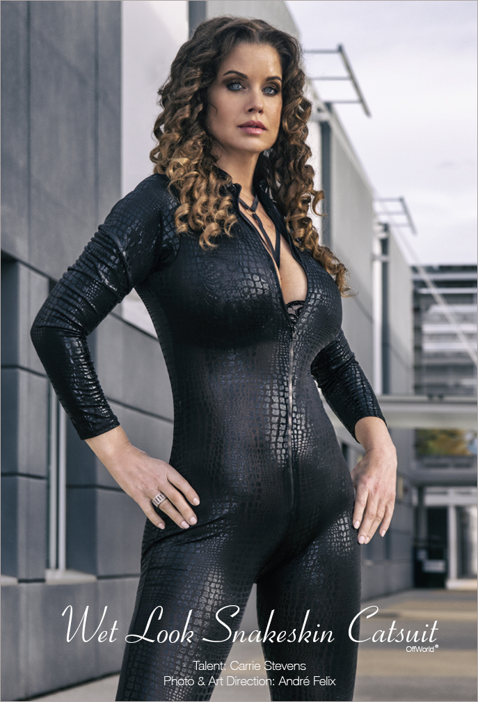 Carrie Stevens Catsuit Poster